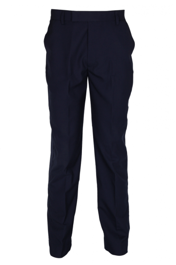 Navy blue matty security trouser