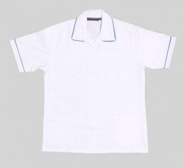 White nurse tunics