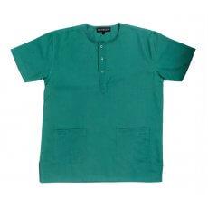 Green women's scrub top