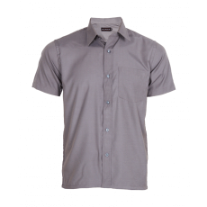 Steel grey half sleeve shirt