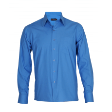 Cerulean blue executive shirt