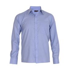 Med blue filafil shirt