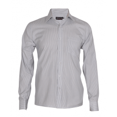 Hairline stiped white formal shirt