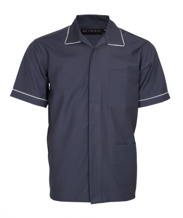 Grey nurse top for men