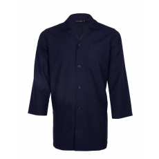 Navy blue full sleeve lab coat