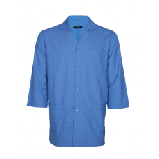 Sky blue full sleeve lab coat