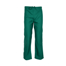 Green Unisex scrub pants