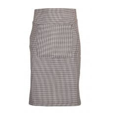 Waist Apron Black & White Checks