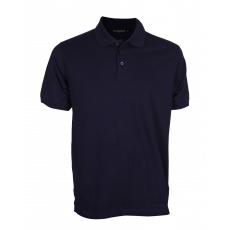 Navy blue polo pique T. shirt