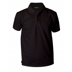 Charcoal black polo pique T. shirt