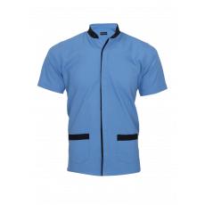 Sky blue service shirt